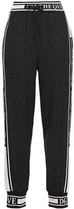 Dolce & Gabbana Striped Jacquard Track Pants