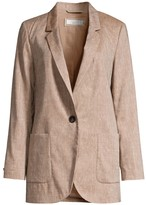 Peserico Linen & Wool Notched Jacket
