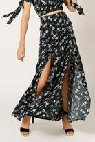 Azalea Floral Ruched Skirt