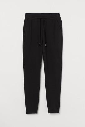 H&M High Waist Sweatpants - Black