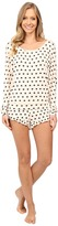 Betsey Johnson Rayon Span Short Set