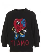 Love Moschino Wool Blend Sweater