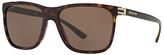 Bvlgari BV7027 Square Sunglasses, Tortoise