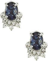 Carolee Imperial Sky Mini Oval Stud Earrings
