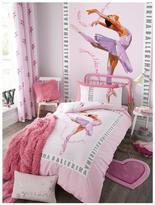 Catherine Lansfield Ballerina Eyelet Curtains