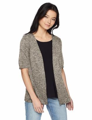 Star Vixen Women's Plus Size Hachi Sweater 2fer