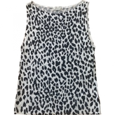 Saint Laurent Leopard print Viscose Top