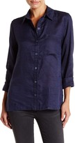 Michael Stars Button Down Linen Blouse