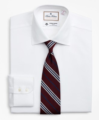 Brooks Brothers Luxury Collection Madison Classic-Fit Dress Shirt, Franklin Spread Collar Pique