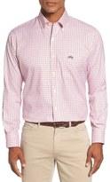 Peter Millar 'Ohio State University' Regular Fit Twill Tattersall Sport Shirt