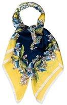 Dolce & Gabbana Lemon Silk Scarf