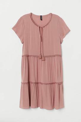 H&M Dress with lace trims