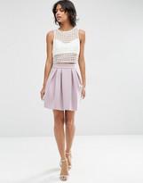 Asos Mini Prom Skirt in Scuba