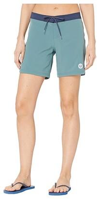 Roxy To Dye 7 Boardshorts (North Atlantic) Women's Swimwear