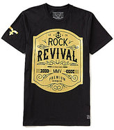 Rock Revival Western Gold Short-Sleeve Graphic Tee
