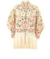 TALITHA Tara floral-embroidered kimono