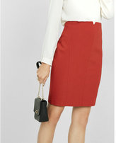 Express notch front pencil skirt