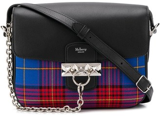 Mulberry Keeley tartan satchel bag