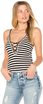 Michael Lauren Mill Lace Up Tank
