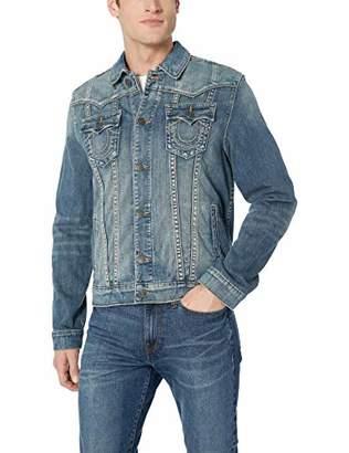 True Religion Men's Trucker Jacket