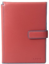 Lodis Audrey Passport Wallet w/ Ticket Flap Checkbook Wallet