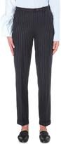 Jacquemus Le Pantalon Ourlet striped wool trousers