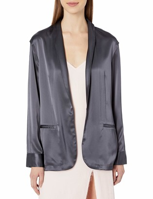 Baja East Unisex Satin Back Crepe Jacket