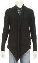 Autumn Cashmere Textured Open Front Drape Sweater