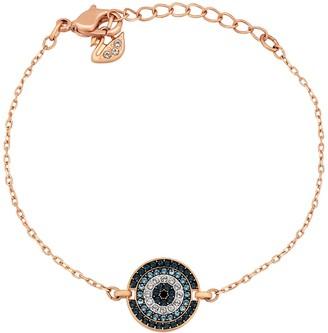 Swarovski Luckily Tri-Tone Crystal Circle Bracelet