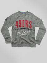 Junk Food Clothing Kids Nfl San Francisco 49ers Sweatshirt-heather Grey-xs