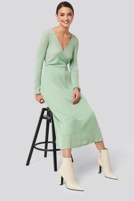 MANGO Lurex Dress
