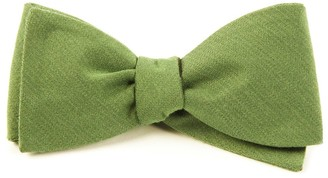 The Tie BarThe Tie Bar Moss Solid Wool Bow Tie