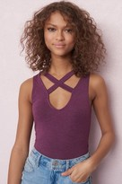 Garage Cross Strap Choker Tank