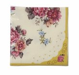 Camilla And Marc Talking Tables Truly Scrumptious Floral Napkins for a Tea Party or Birthday, Multicolor (30 Pack)
