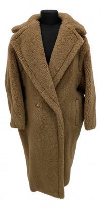 Max Mara Teddy Bear Icon Beige Wool Coats