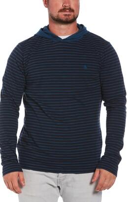 Original Penguin Stripe Pullover Hoodie