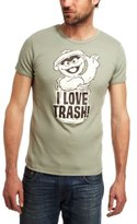 Logoshirt Sesame St. - Oscar I Love Trash Logo Men's T-Shirt XX-Large