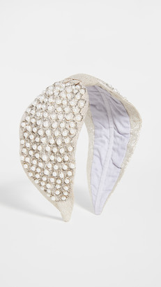 NAMJOSH Glass Pearl Embellished Headband