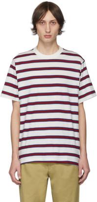 Noon Goons White Surfer Stripe T-Shirt
