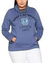 Ulla Popken Women's Sportiv Sweatshirt,UK 20