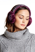 UGG Two-Tone Sparkle Genuine Dyed Shearling Earmuffs