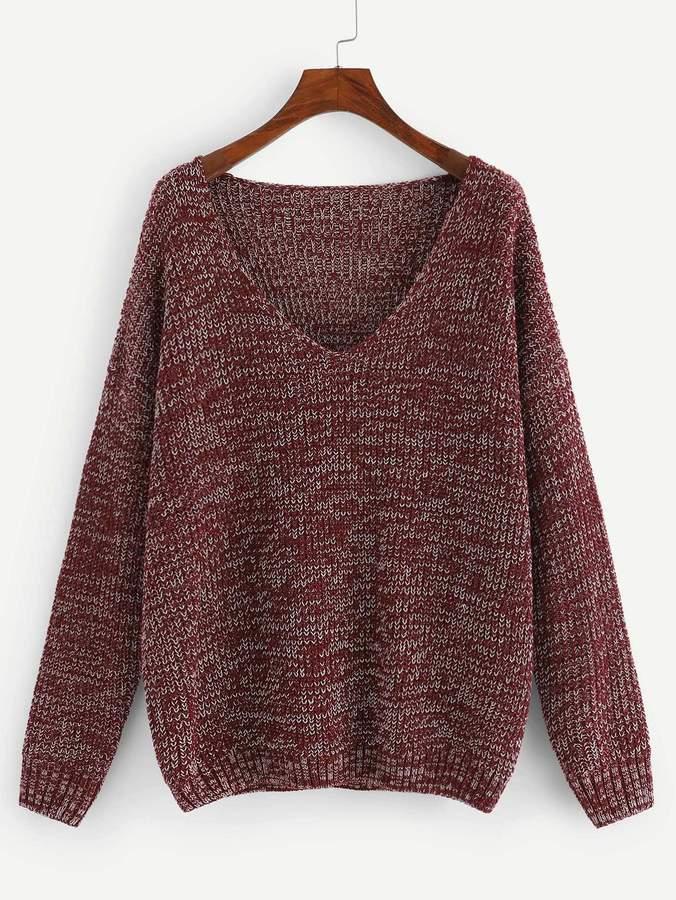 b511e1188631e Maroon Sweater - ShopStyle