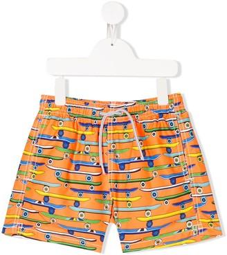 Mc2 Saint Barth Kids Boardshop swimming trunks