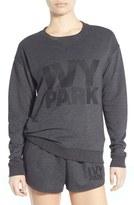 Ivy Park Logo Crewneck Sweatshirt
