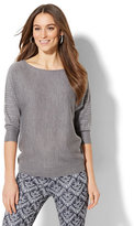 New York & Co. 7th Avenue Design Studio - Rhinestone Dolman Sweater