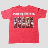 Power Rangers Boys' T-Shirt - Red