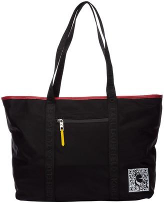 Karl Lagerfeld Paris K/Pixel Tote Bag