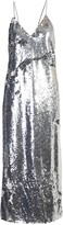 Stella McCartney Sequinned V-Neck Midi Dress
