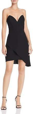 Amanda Uprichard Viv Strapless Dress