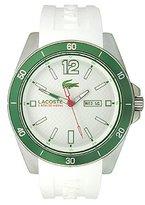 Lacoste Men's 2010802 Seattle Analog Display Japanese Quartz White Watch